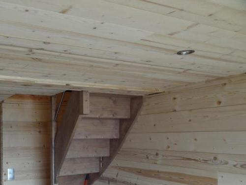 Murs et plafond en chablis aux Angles